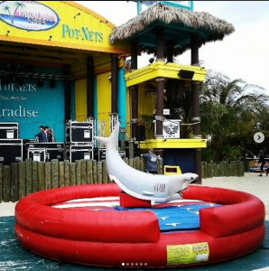 inflatable shark rental