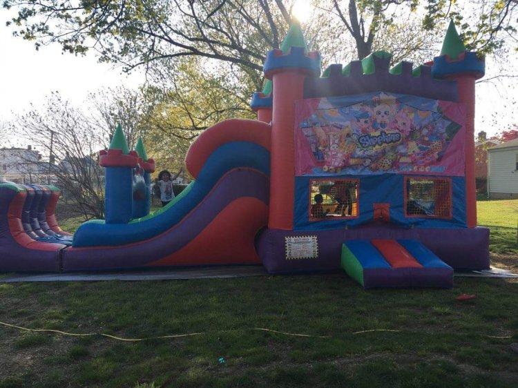 Shopkins Colorful Castle Wet