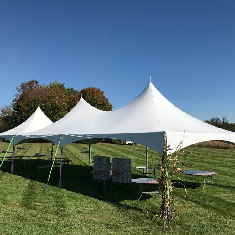 20x60 High Peak Frame Tent Package